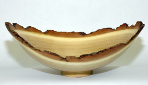 Typical Natural Edge Bowl - Black Locust